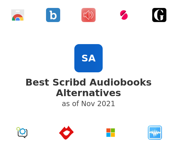 Best Scribd Audiobooks Alternatives