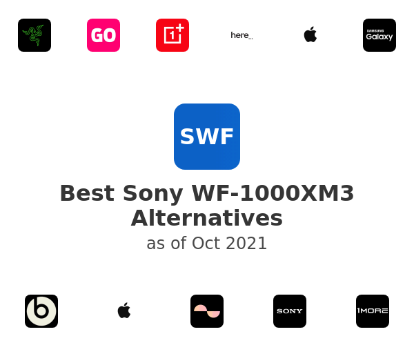 Best Sony WF-1000XM3 Alternatives