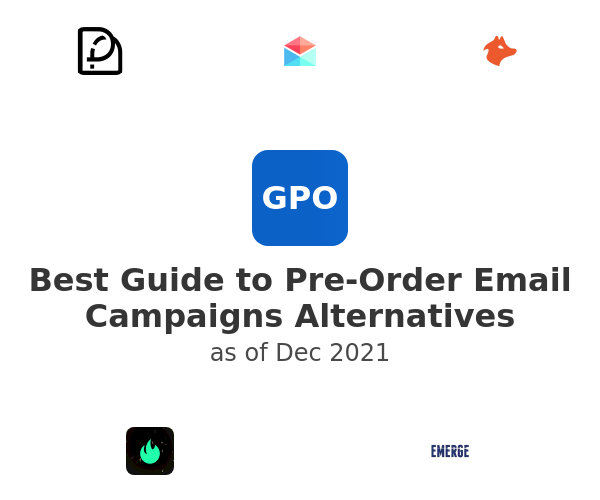 Best Guide to Pre-Order Email Campaigns Alternatives