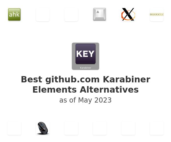 Best Karabiner Elements Alternatives