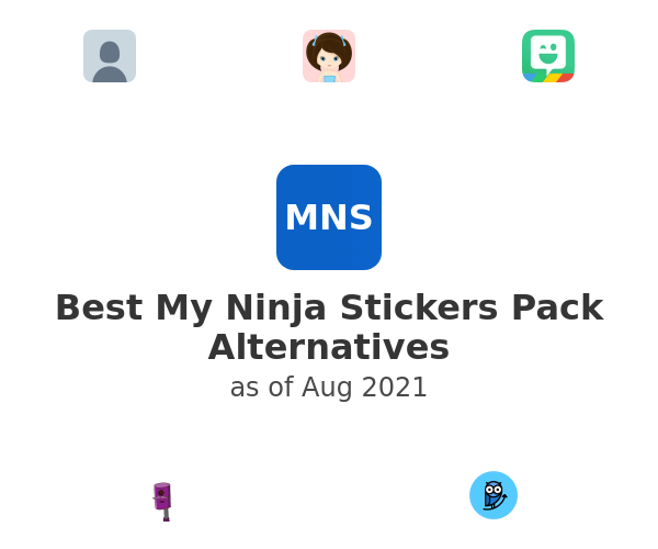 Best My Ninja Stickers Pack Alternatives
