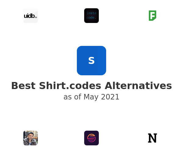 Best Shirt.codes Alternatives