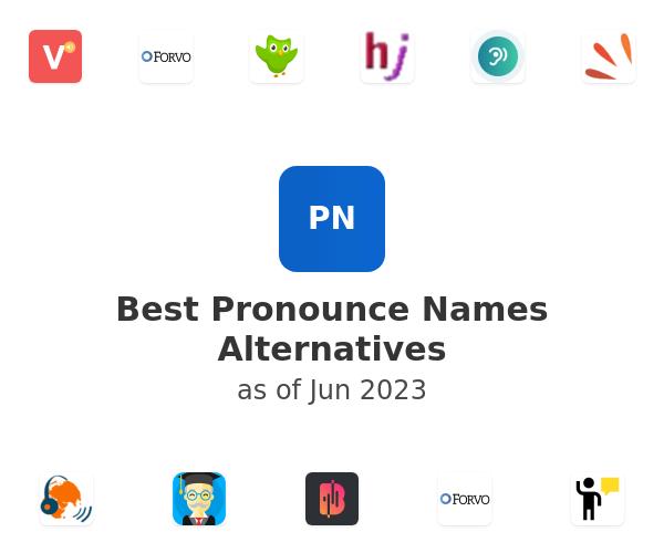 Best Pronounce Names Alternatives