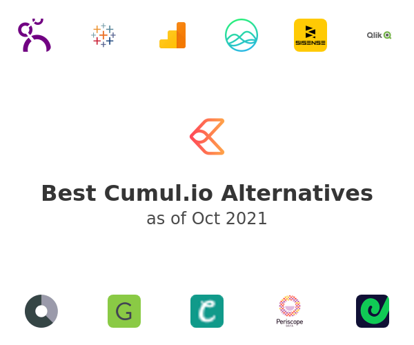 Best Cumul.io Alternatives