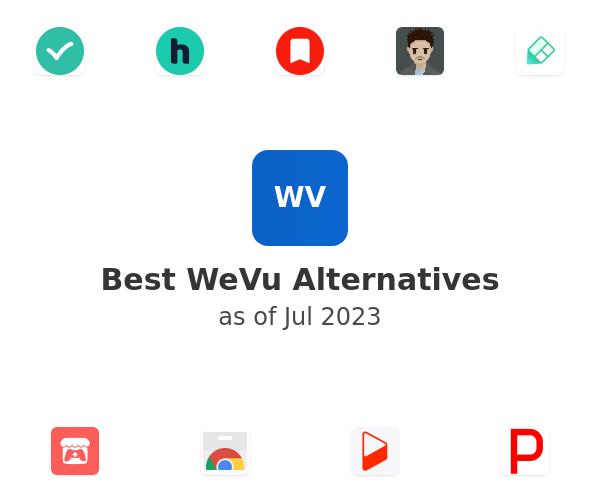 Best WeVu Alternatives