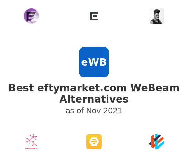 Best WeBeam Alternatives