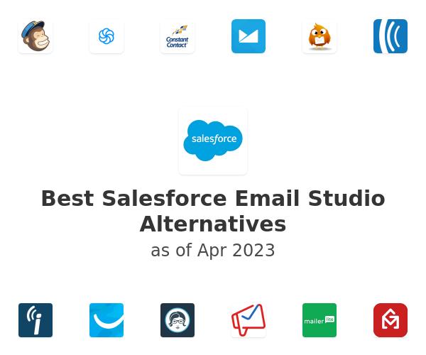 Best Salesforce Email Studio Alternatives