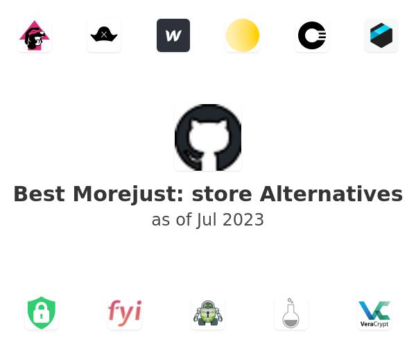 Best Morejust: store Alternatives