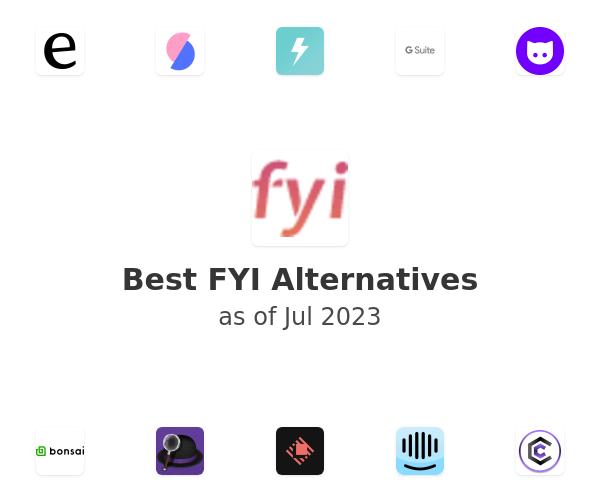 Best FYI Alternatives