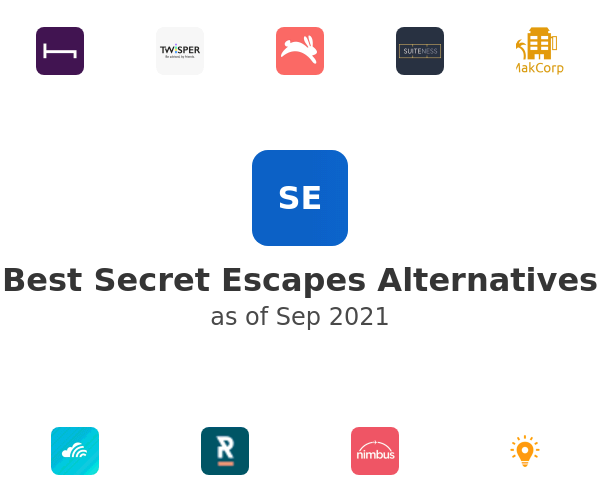 Best Secret Escapes Alternatives