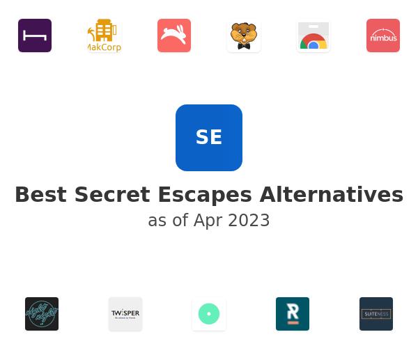 Best Secret Escapes Alternatives