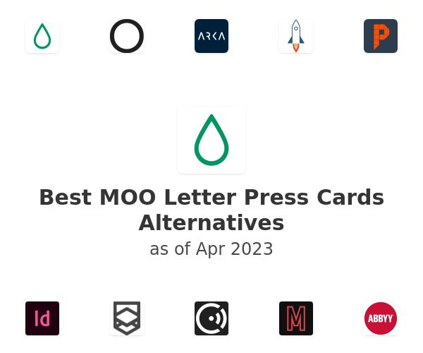 Best MOO Letter Press Cards Alternatives