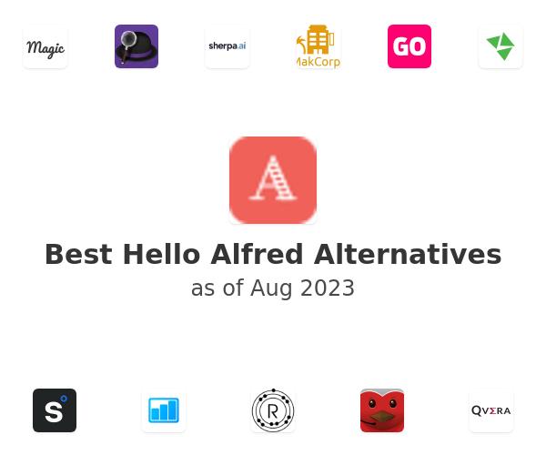 Best Hello Alfred Alternatives