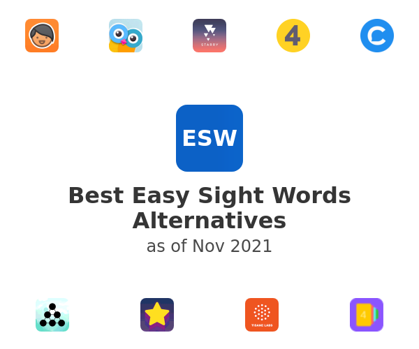 Best Easy Sight Words Alternatives