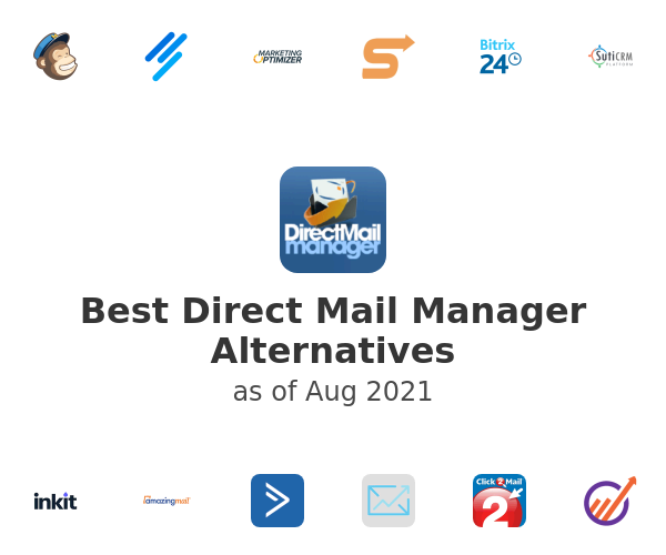 Best Direct Mail Manager Alternatives