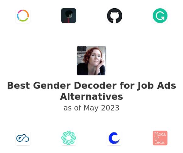 Best Gender Decoder for Job Ads Alternatives