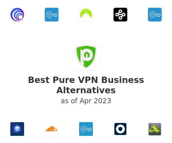 Best Pure VPN Business Alternatives