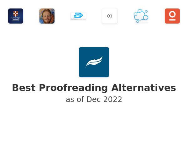 Best Proofreading Alternatives