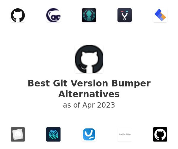 Best Git Version Bumper Alternatives