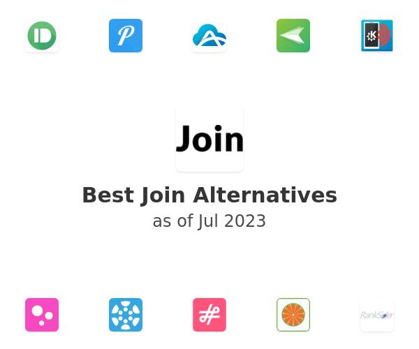 Best Join Alternatives