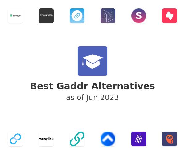 Best Gaddr Alternatives