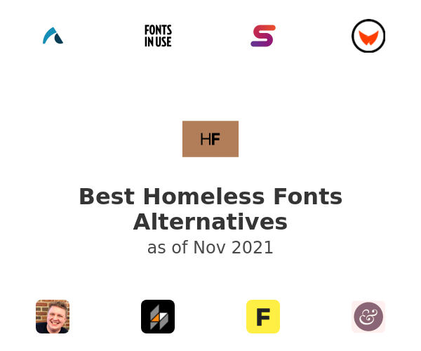 Best Homeless Fonts Alternatives