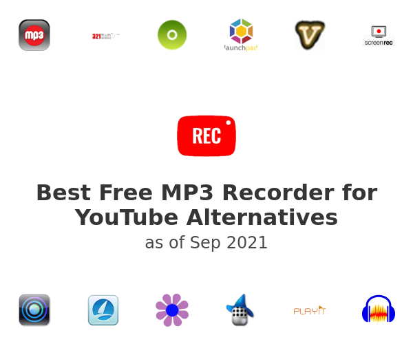 Best Free MP3 Recorder for YouTube Alternatives