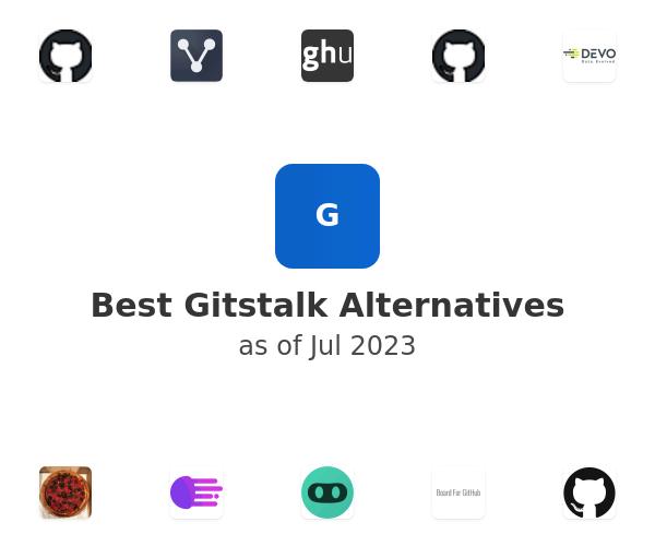 Best Gitstalk Alternatives