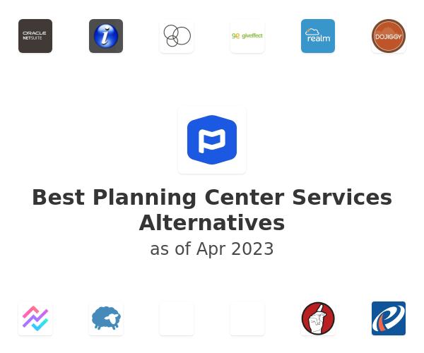 Best Planning Center Services Alternatives