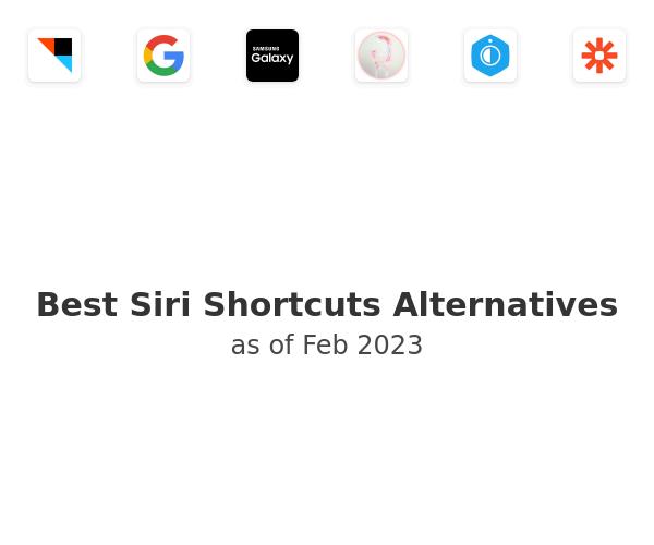Best Siri Shortcuts Alternatives