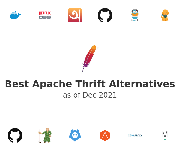Best Apache Thrift Alternatives
