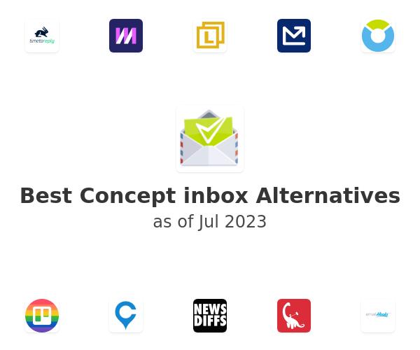 Best Concept inbox Alternatives