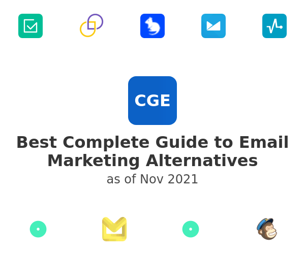 Best Complete Guide to Email Marketing Alternatives