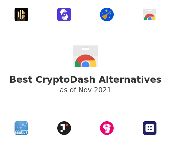 Best CryptoDash Alternatives