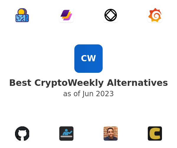 Best CryptoWeekly Alternatives