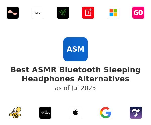 Best ASMR Bluetooth Sleeping Headphones Alternatives