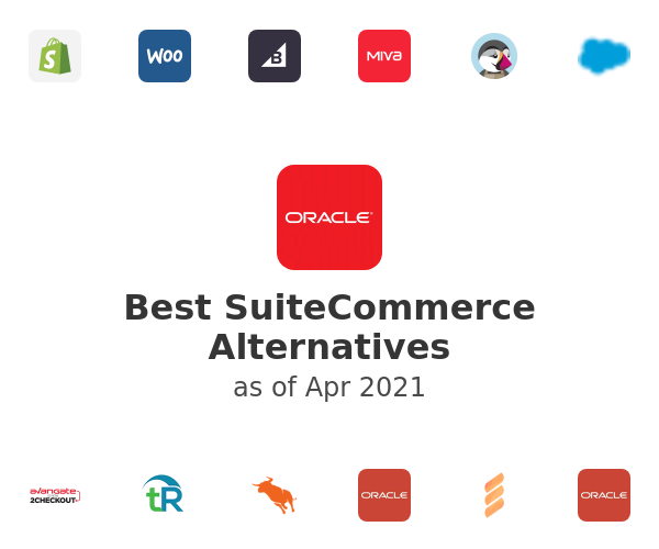 Best SuiteCommerce Alternatives