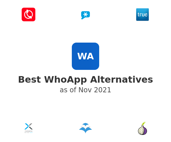 Best WhoApp Alternatives