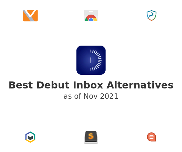 Best Debut Inbox Alternatives