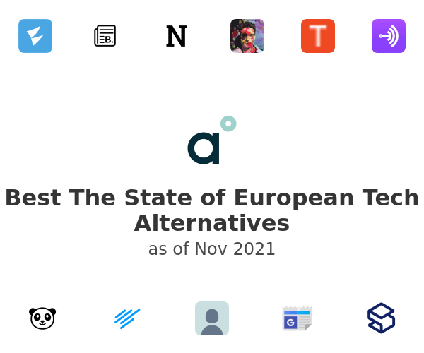 Best The State of European Tech Alternatives