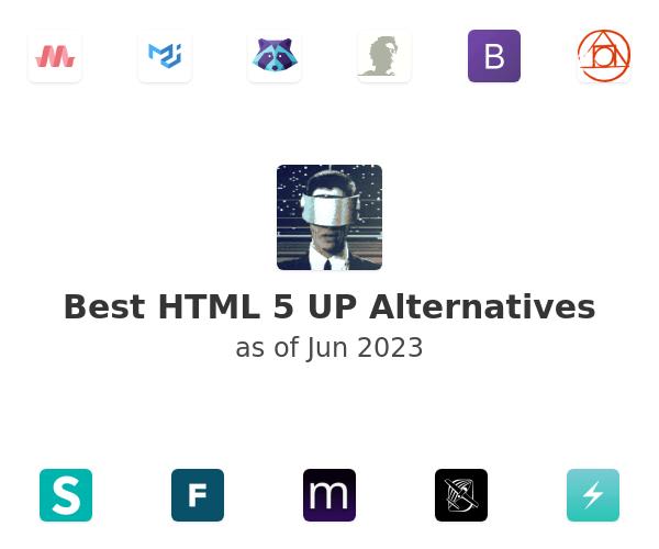 Best HTML 5 UP Alternatives