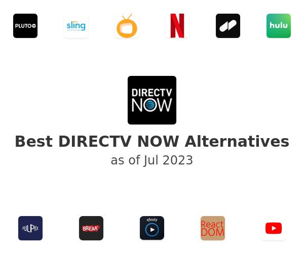 Best DIRECTV NOW Alternatives