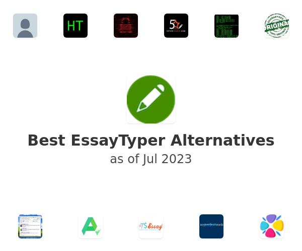 Best EssayTyper Alternatives