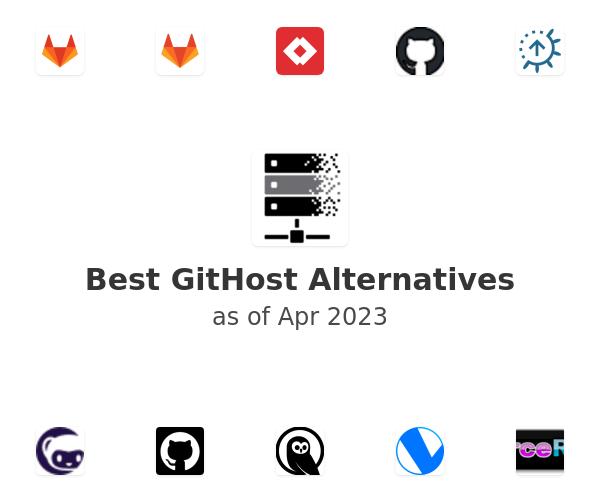 Best GitHost Alternatives