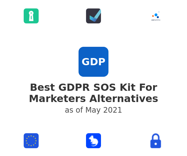 Best GDPR SOS Kit For Marketers Alternatives