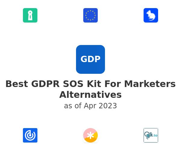 Best GDPR SOS Kit For Marketers Alternatives
