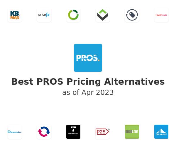 Best PROS Pricing Alternatives