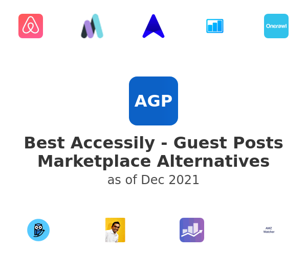 Best Accessily - Guest Posts Marketplace Alternatives