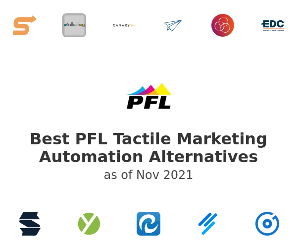 Best PFL Tactile Marketing Automation Alternatives