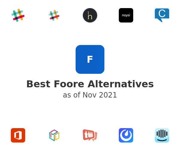 Best Foore Alternatives